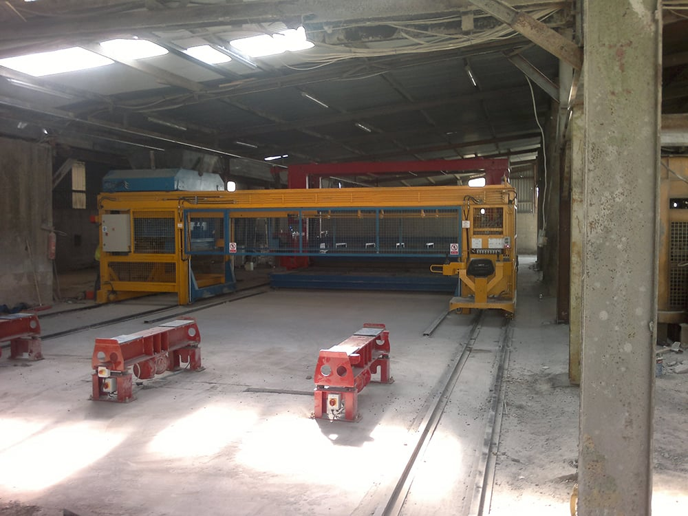 New precast dry cast slat machine prodcut span of up to 5640mm