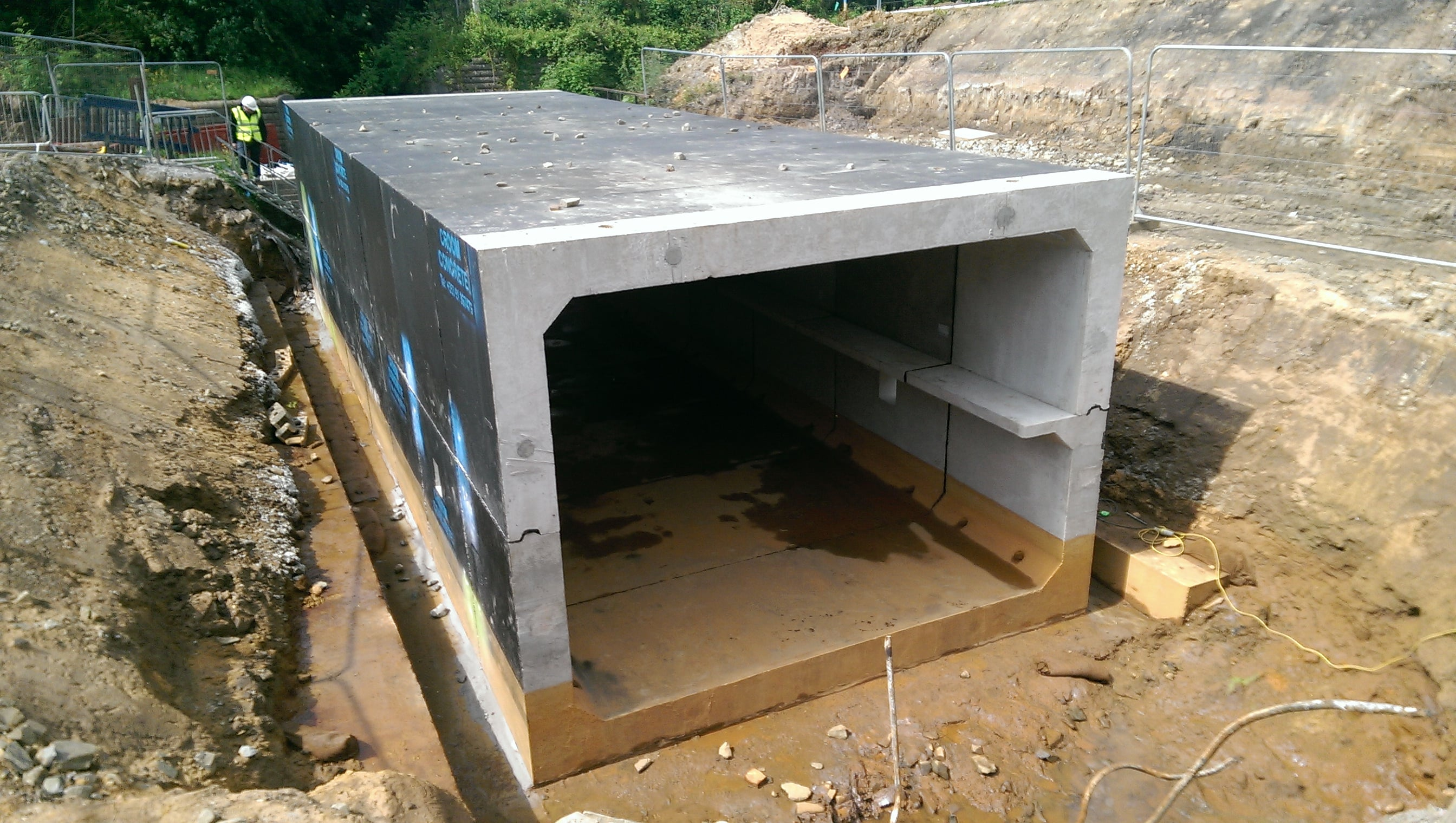 Balfour Beatty Takes Delivery Of U Shaped Culverts From