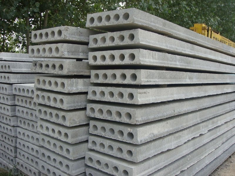 Precast Concrete Hollowcore Flooring For Residential Homes