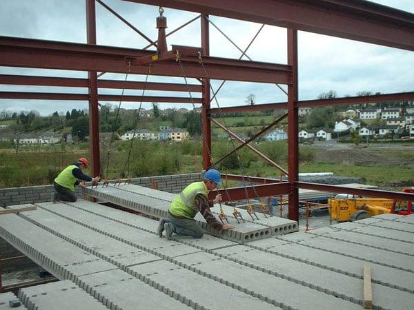 Hollow Core Precast Concrete Floor Panels Diagram : Precast hollow core flooring for residential homes