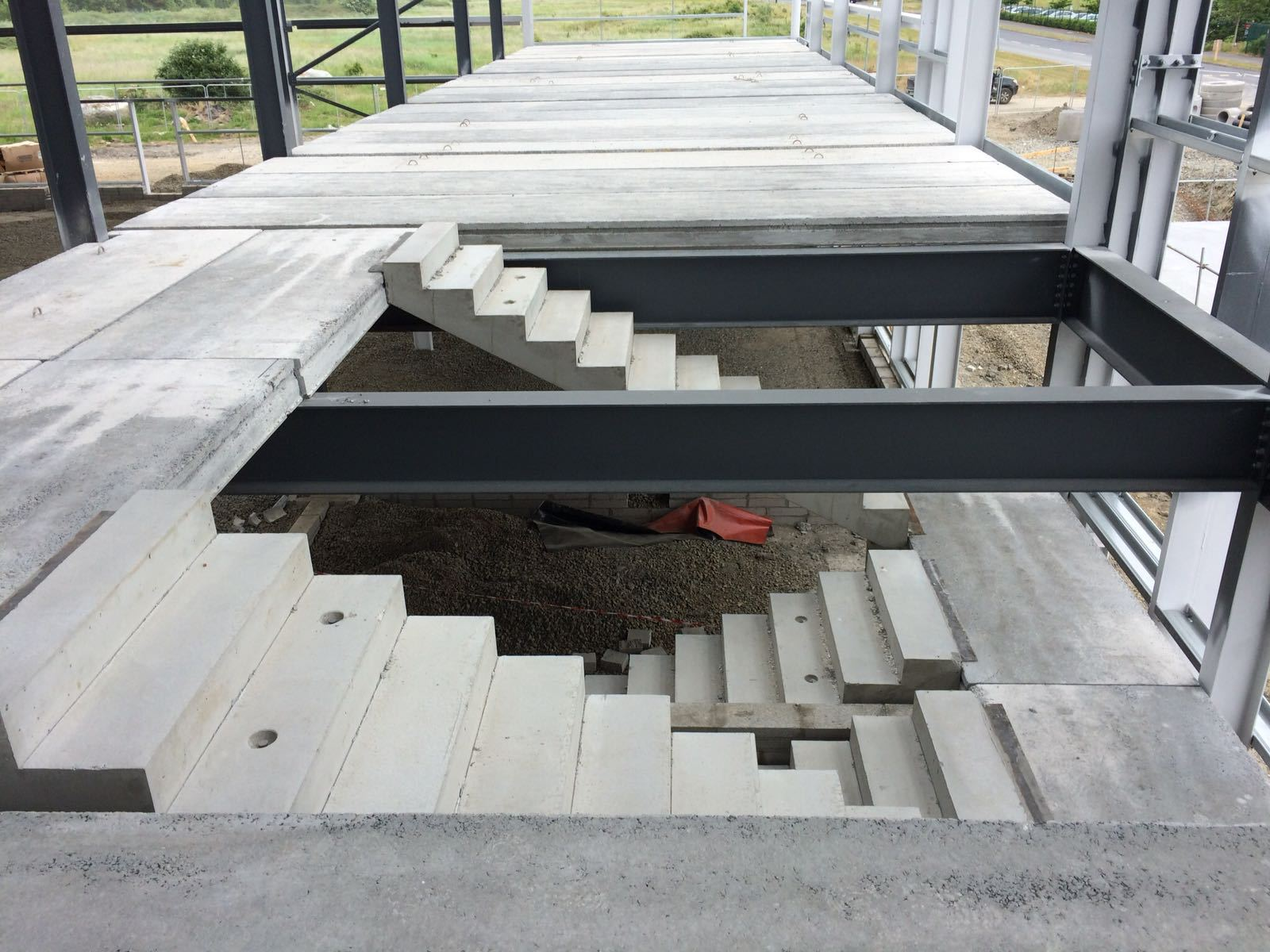Precast Hollow Core Flooring for residential homes
