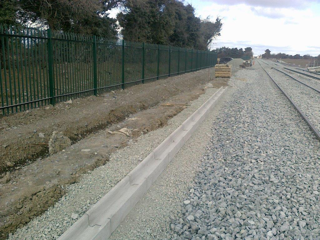 Precast Concrete Railway Troughs