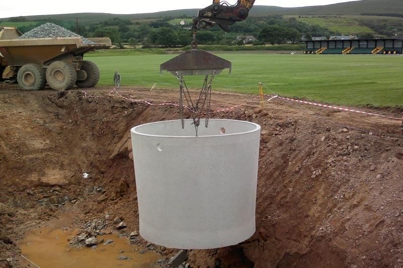 Precast Concrete Effluent Tanks