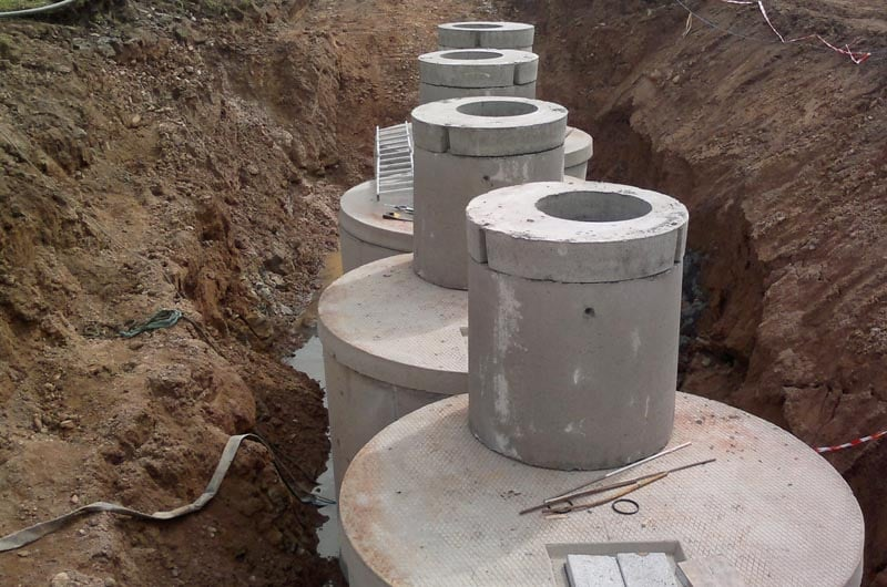Concrete Effluent Tanks
