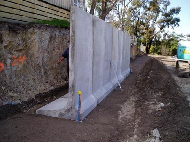 Precast Concrete L Walls Movable And Flexible Walls Croom Concrete