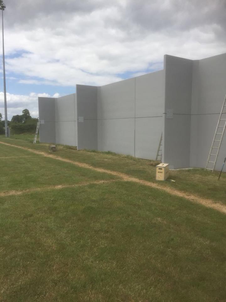 27m Hurling Wall Installed In Garryspillane Gaa Croom