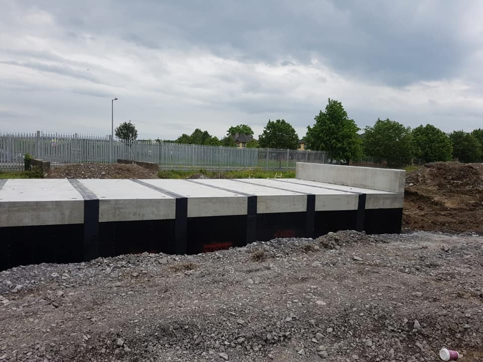 5m Precast Box Culverts By Croom Installed In Athy