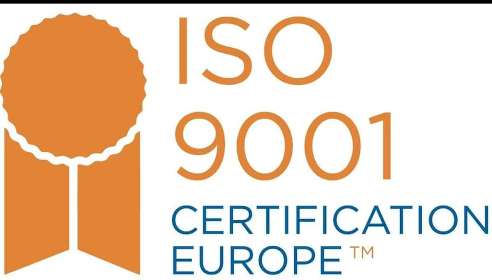 ISO Accredited Certification For Our Company