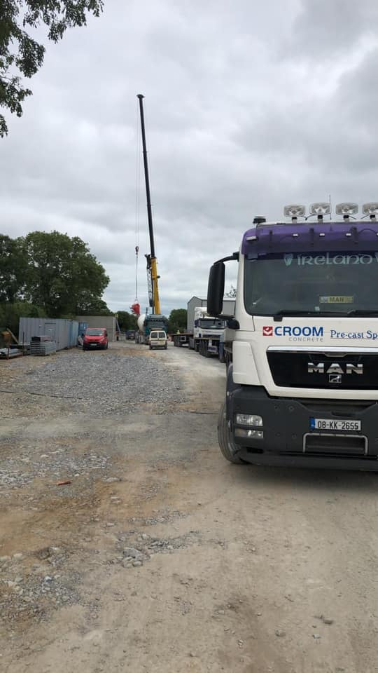 Precast Tanks by Croom Concrete in Co.Limerick