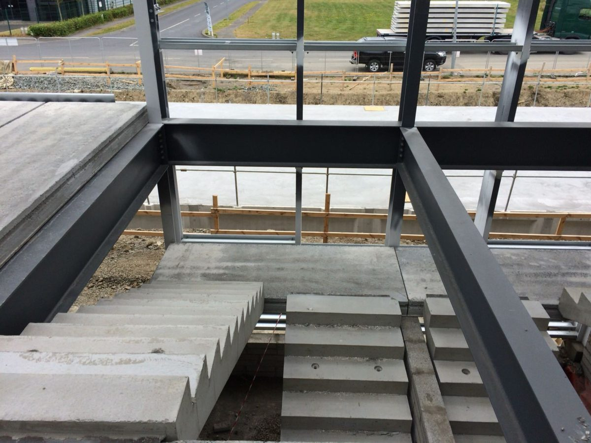 Pre-Cast Concrete Stairs and Landing Units - Croom Concrete UK