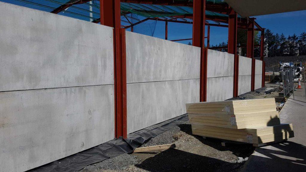 Precast Concrete Walls & Concrete Wall Panels - Croom Concrete UK