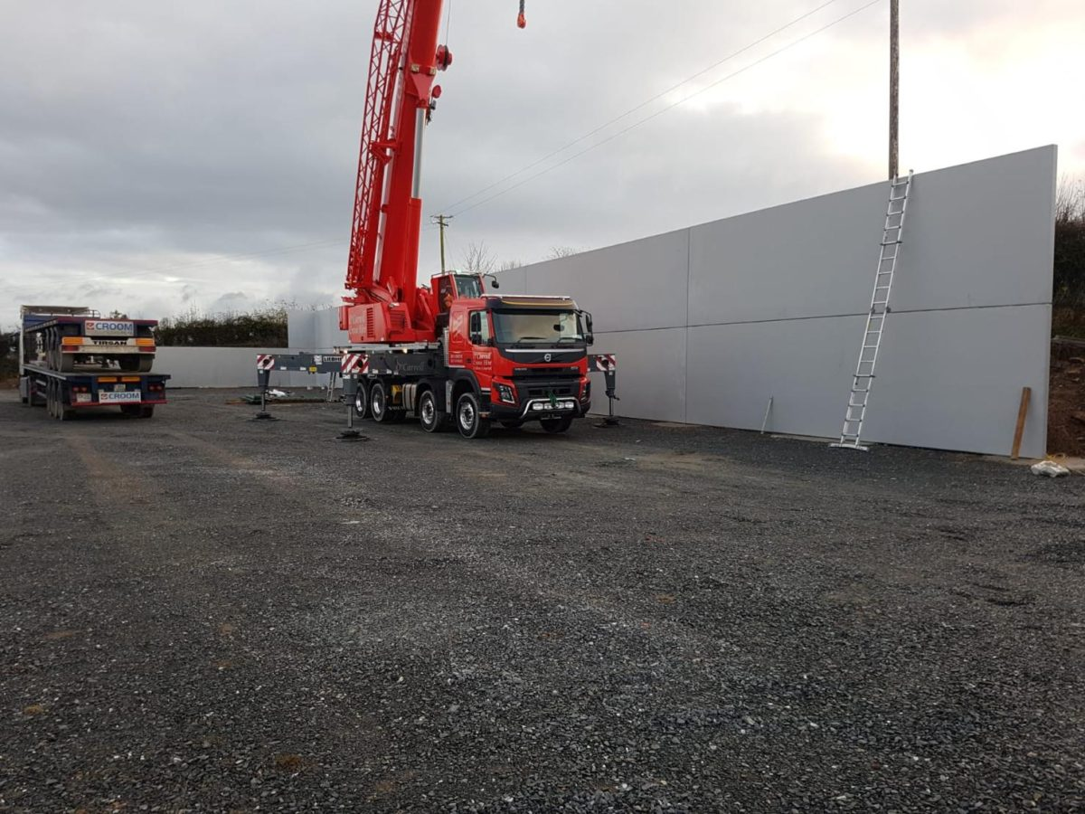 Skills Hurling Wall Installed In Burgess GAA