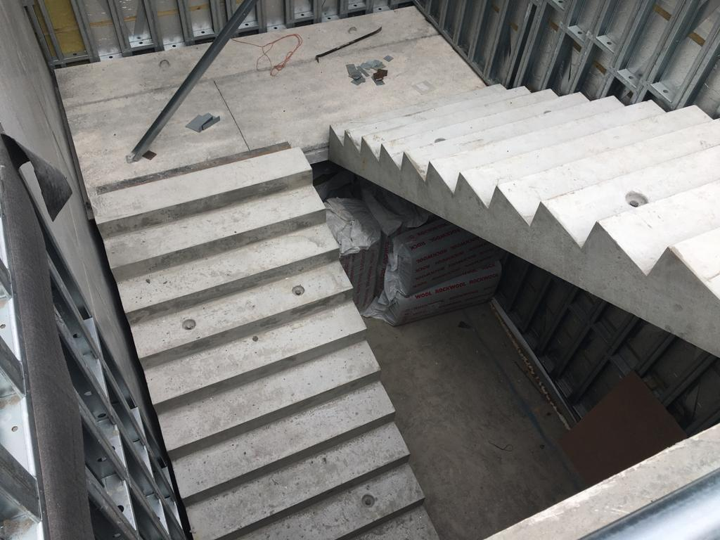 Precast Stairs and Landing for Croom Hospital