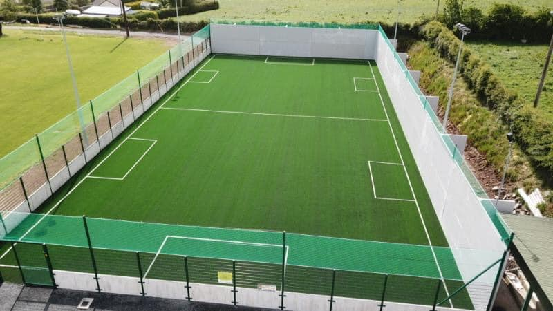 Hurling Walls & Astroturf for Burgess GAA in Tipperary