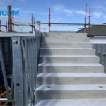 Concrete Stairwell for University Hospital Limerick