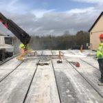 Prestressed Hollowcore Ground Floor Slabs in Wexford