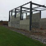 100mm Prestressed Wall Panels for Kilteely Gaa